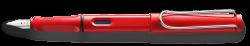 LAMY safari red Fountain pen M