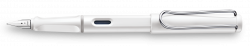 LAMY safari white Fountain pen M