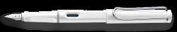 LAMY safari white Fountain pen M