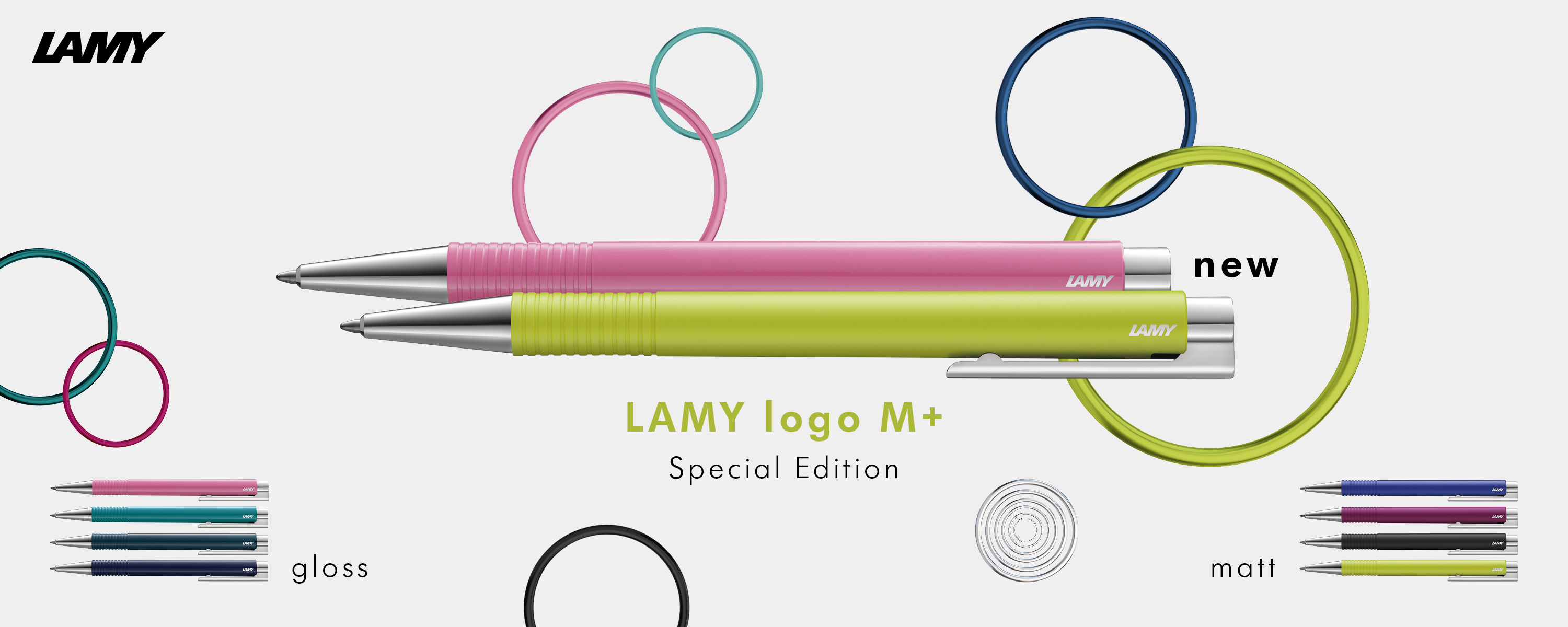 LAMY logo M+ special edition