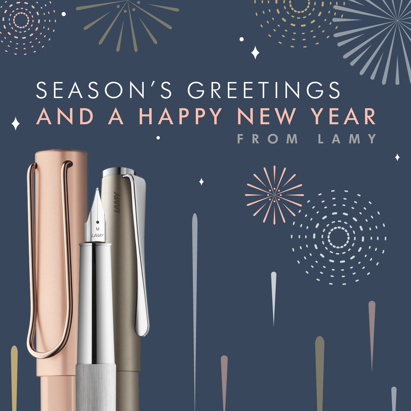 Season's Greetings and a Happy New Year from LAMY